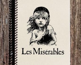 Les Miserables Journal - Les Miserables Logo - Les Miserables Notebook - Les Miserables Broadway
