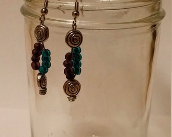 Whimsical Swirl Earrings