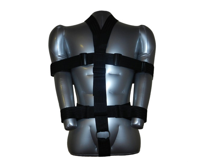 FULL BODY HARNESS (bondage)  - With arm and wrist restraints