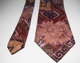 100% silk tie Silk vintage-pure silk