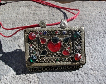 Afghan portacorano box pendant, three different models. Code FREESHIP