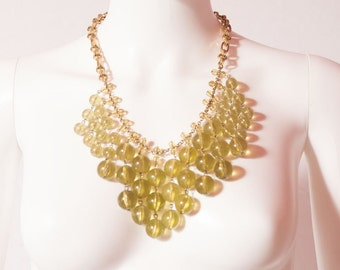 Yellow Bead Necklace