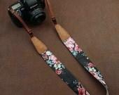 Camera Strap floral for camera canon nikon and camera strap universal