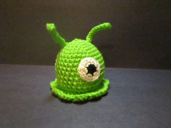 Brain Slug Pattern Brain Slug Crochet Pattern Pdf