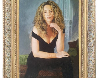 Custom portrait, oil painting, pastel, crayon. Ideal gift for all occasions like weddings, birthdays, corporate, commemorative.