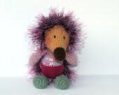 Amigurumi Hedgehog. Soft crochet Hedgehog. Crochet toys. Soft toys. Handmade Hedgehog. Hedgehog gift. Stuffed amigurumi Hedgehog.