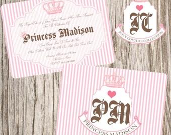 Princess Couture Invitation