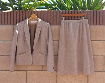 Vintage Pendleton Suit, Medium
