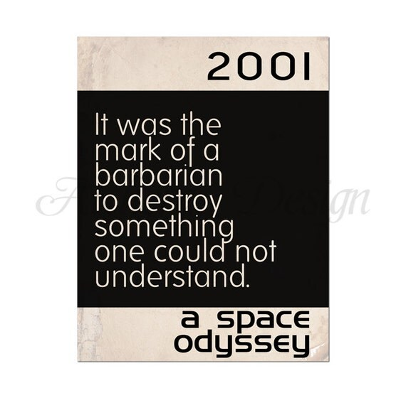 a literary analysis of 2001 space odyssey by arthur clarke 2001: a space odyssey  and the story seems that it could only exist in the literary  fiction and tagged 2001: a space odyssey, arthur clarke, film.