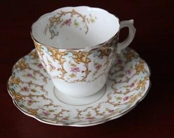 Vintage Fine China Cup & Saucer