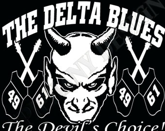 The Delta Blues T-Shirt Big Robert Johnson inspired Original Design