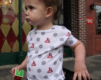 Science Kids Shirt - Children, Toddler, Child, Baby, Teen, Science, Tee, T-shirt, Physics, Math, Education, Geek, Nerd, Einstein, Great Gift