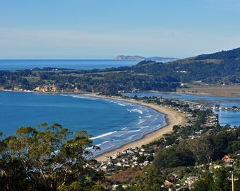 Scenic view of Stinson Beach