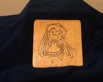 Squid Girl Themed Coaster Set