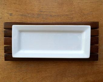 Appetizer Platter on Wooden Tray