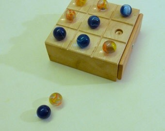 manobosco marbles - Tic Tac Toe - Dodelschach