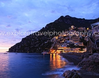 Wall Art 40% off Digital Download Positano, Italy Fine Art Landscape Photography - Instant Digital Download Printable by Explore Travel