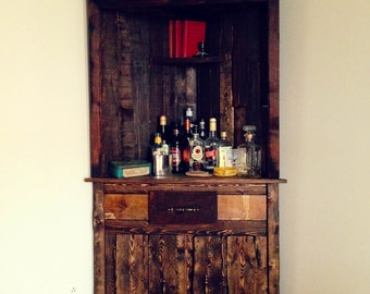 Reclaimed wood Buffet cabinet / Dining Room Server / wood furniture liquor cabinet / Dining Cupboard / Dining Furniture / Hutche