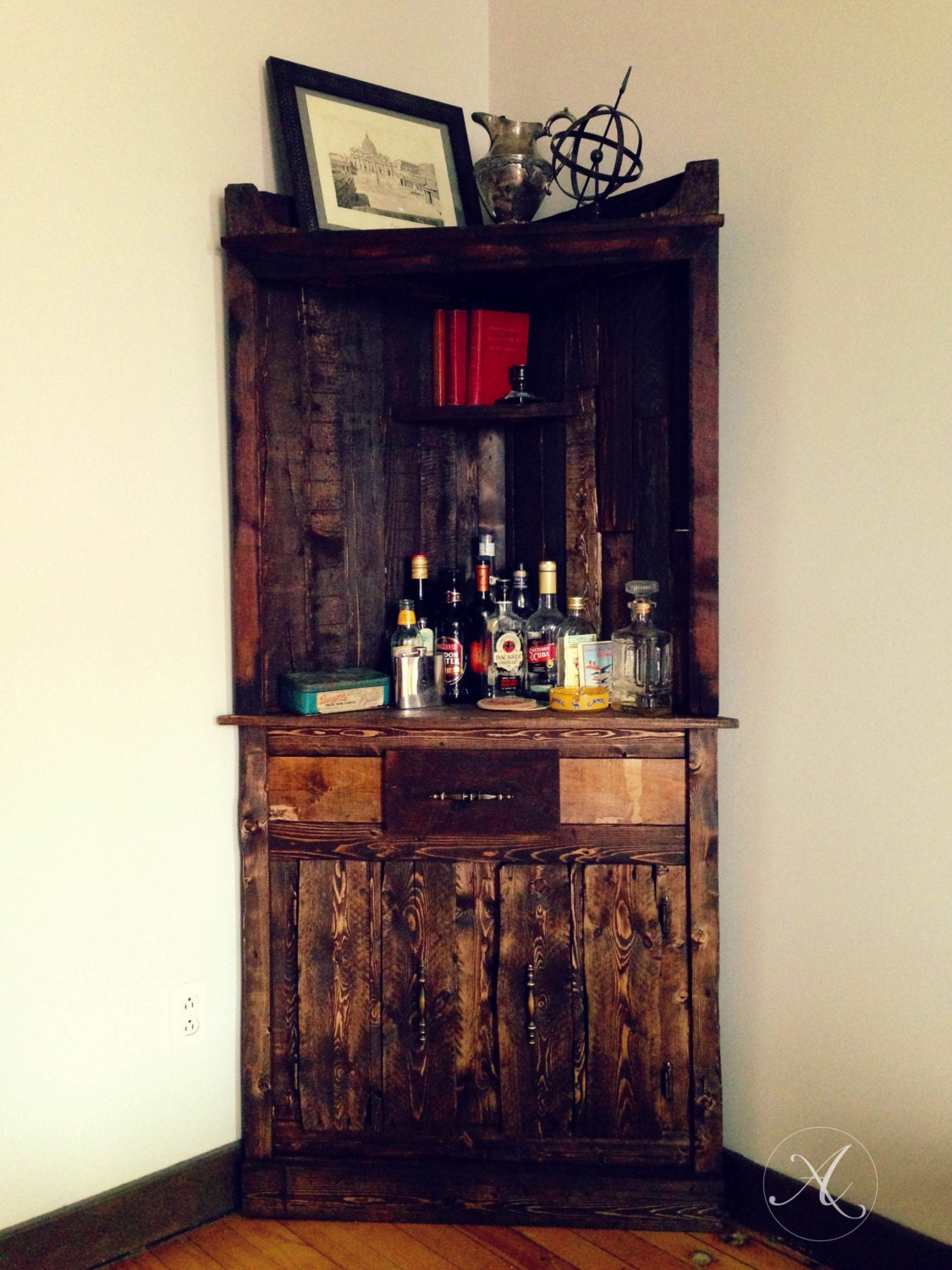 reclaimed wood buffet cabinet dining room server wood