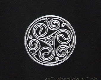 Celtic Circle Motif 0003 - digital design for embroidery machine