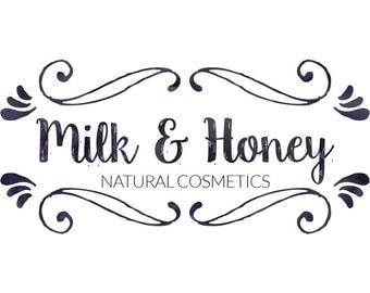 Pre-made Logo Design - Handdrawn inspired Logo - Logo for Branding - Elegant Logo