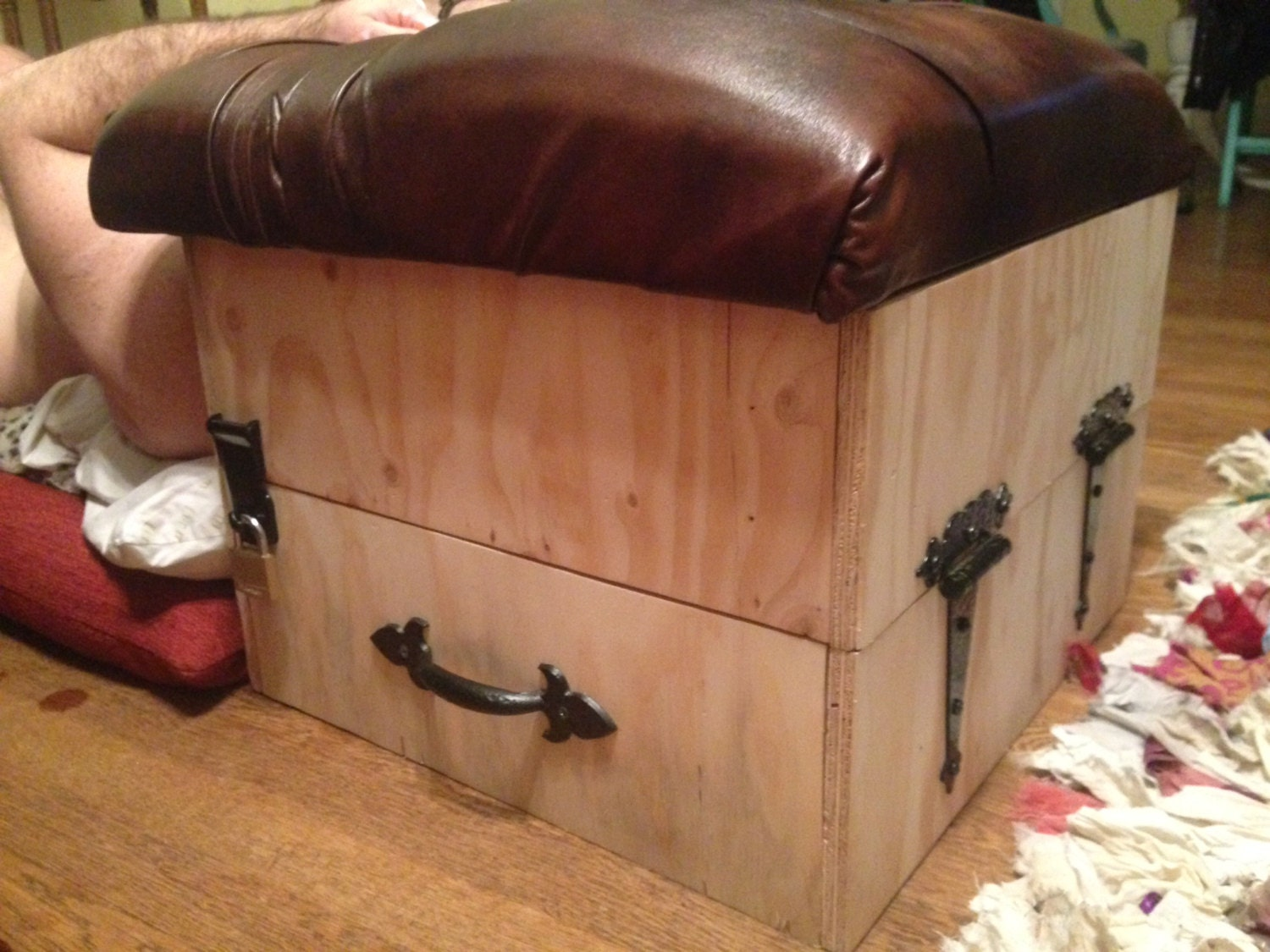 Custom Smother and Facesitting Box that is Fully by