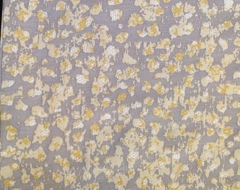 Multipurpose Modern Animal Pattern Fabric In Yellow Ivory Tan And Gray For Curtains Upholstery Accessories