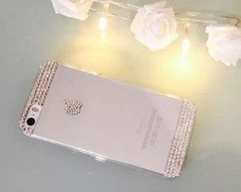 iPhone 5s case with genuine swarovski elements.