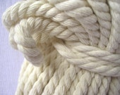 Cotton Cord, Natural Cord, Cotton Rope, Natural Cotton Rope, Eco Friendly Rope 6 mm