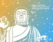Buddha Stars Quote Instant Downloadable Art