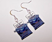 Dark and Stormy Night Mystery Earrings