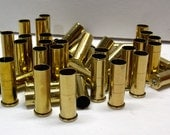 38 special brass empty cartridge shell casings from guns for steampunk jewelry 50 pieces