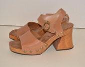 Vintage 90s Candies Platform Sandals