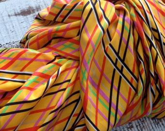 Retro Silky Polyester Fabric