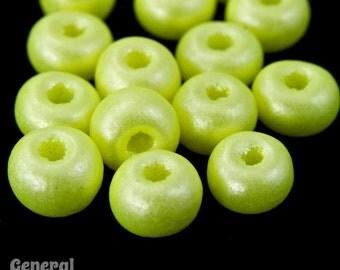 6/0 Pearl Neon Yellow Seed Bead (40 Gram) #CSB250