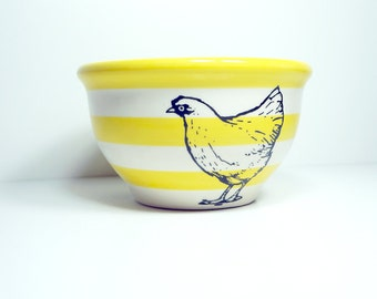 medium bowl chicken. Made to Order / Pick Your Colour