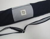Yoga Bag-Navy and Grey