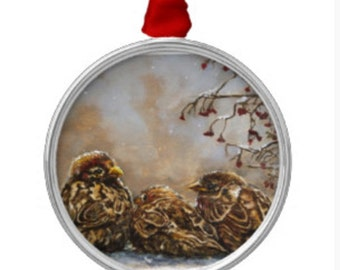 Christmas Ornament - Tree Ornaments - Bird Ornaments