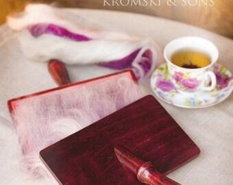 Kromski Full Size Hand Cards TPI 78  Walnut Mahogany Clear or Unfinished