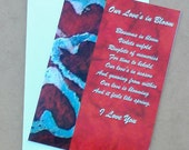 Our Love's In Bloom - I Love You 5x7  Greeting Card