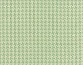 "29"" piece/remnant - SALE - Somerset - Houndstooth Check in Rain Washed Aqua: sku 20235-15 cotton quilting fabric by Fig Tree for Moda"