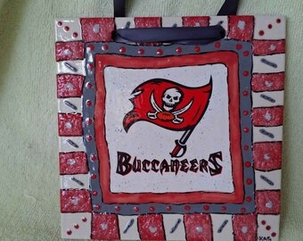 GO Bucs - Tampa Bay Bucs Lover - Wall Tile to hang