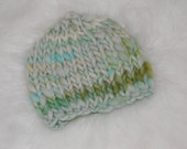 Mint Marble Classic Baby Hat Photography Prop Ready to Ship