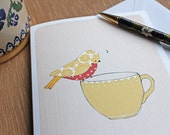 Tea Time Song - 4 Notecards