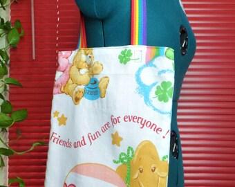 Care Bears WRETRO WRAPPER tote bag