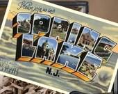 Vintage Large Letter Postcard Save the Date (Spring Lake, NJ) - Design Fee