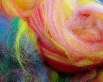 Spinning Fiber of the Month Club 3 Month Subscription Carded Batt Textured Fun Exclusive