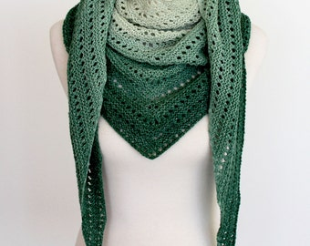 Kalari Shawl,  knitting pattern PDF instant download