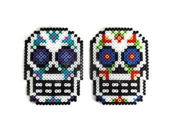 Sugar Skull Magnet Day of the Dead Dia De Los Muertos Decor