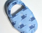 Blue Whale Slippers Child M